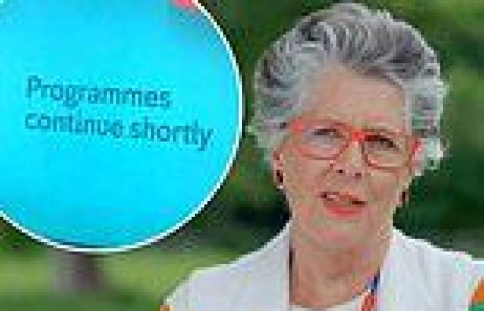 Great British Bake Off viewers upset as show has technical issues