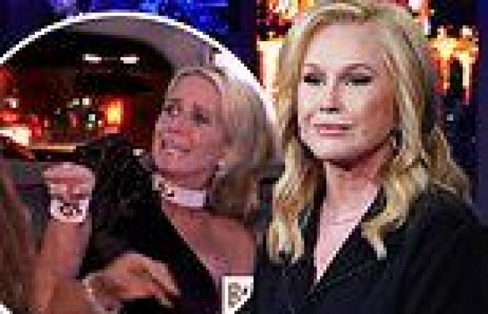 Kathy Hilton reveals past anguish watching her sisters clash on The Real ...