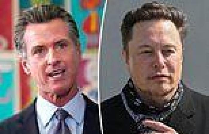 California Gov. Gavin Newsom snaps back at Elon Musk after Tesla confirms move ...