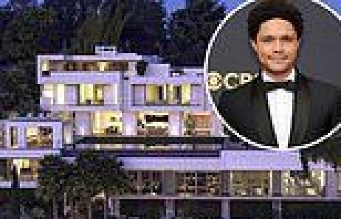 Trevor Noah lists his stunning Bel Air mansion for$30 million nine months ...