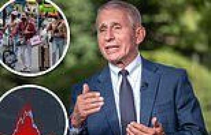 Fauci says Covid deaths soon start to go down as he tells vaccinated people to ...