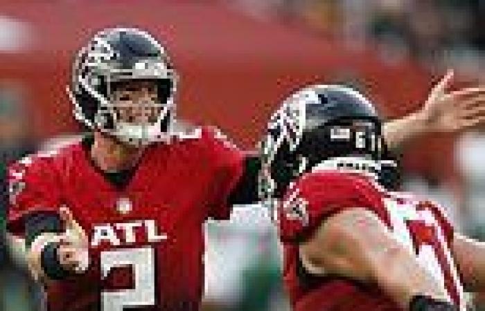 sport news Atlanta Falcons overcome New York Jets at Tottenham Stadium as they hold off ...