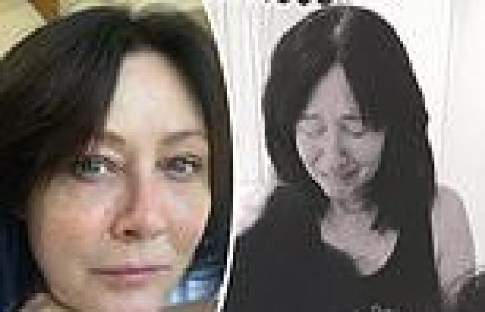 Shannen Doherty shares emotional photos and details her hair loss battle during ...