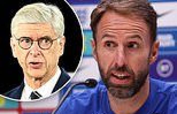 sport news England boss Gareth Southgate points out the flaws in Arsene Wenger's ...