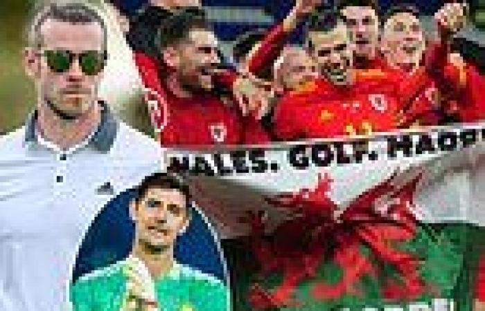 sport news I'm tee-rrific! Golf-obsessed Gareth Bale claims he is the 'No 1' player at ...