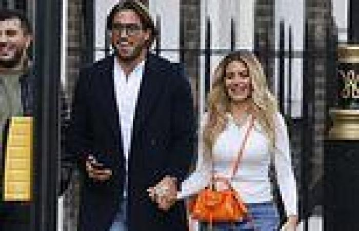 Megan Barton Hanson puts on a cosy display with new TOWIE beau James Lock