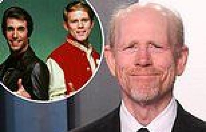 Ron Howard reveals hair loss was due to anxiety over The Fonz eclipsing his ...