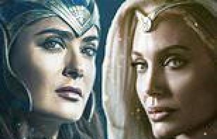 The Eternals character posters are released with Angelina Jolie, Kumail ...