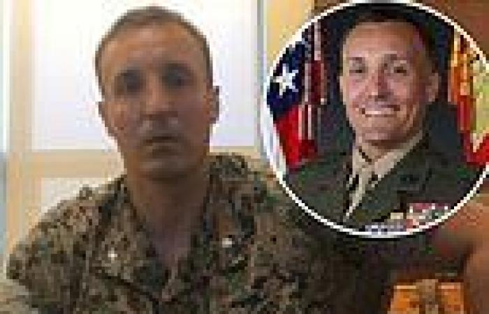 Marine Lt Col Stuart Scheller 'will plead GUILTY to charges at court martial'