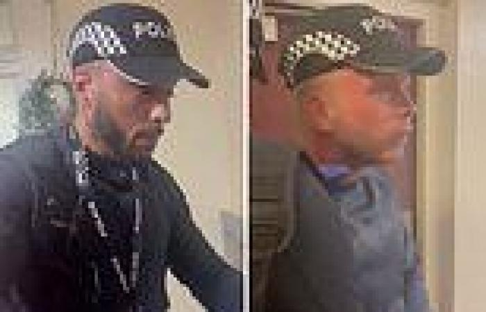 Two men armed with batons 'impersonating police officers' try to get into a ...