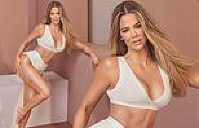 Khloe Kardashian flaunts her figure as she reveals she feels 'shot down' when ...
