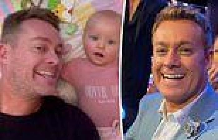 Grant Denyer shares an adorable video of his baby daughter Sunday enjoying ...