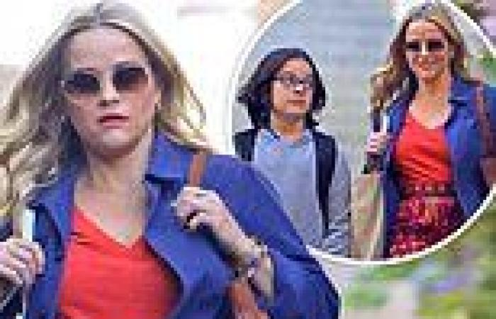 Reese Witherspoon shoots scene with Jimmy Kimmel's nephew for rom-com film Your ...