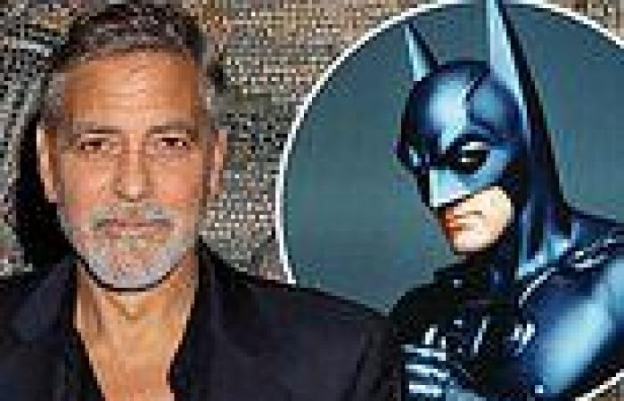 George Clooney admits he completely screwed up playing Batman in 1997's Batman ...