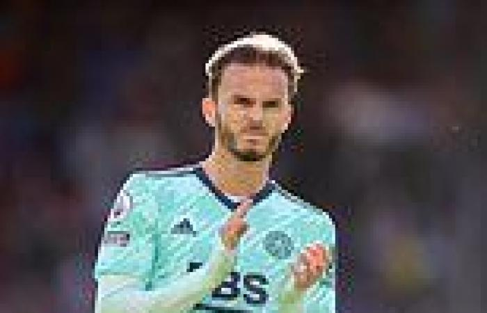sport news Injuries and James Maddison's misery are DAMAGING Leicester's bid to build on ...