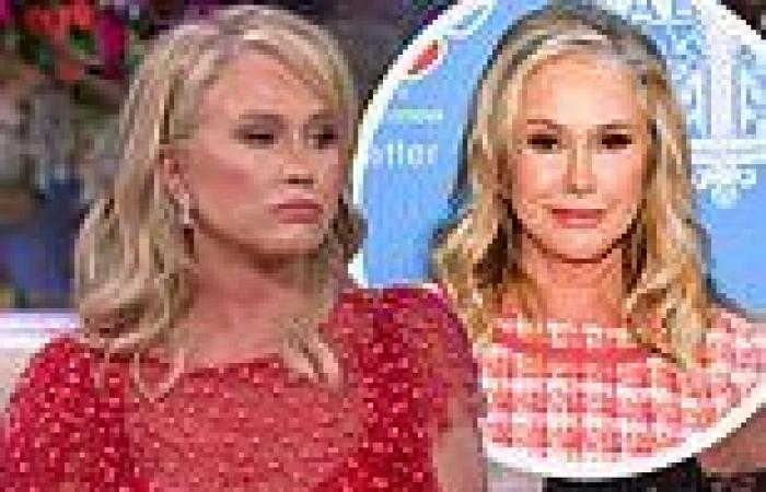 Kathy Hilton says filming Real Housewives Of Beverly Hills reunion made her ...