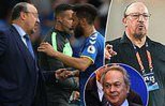 sport news Rafa Benitez claims Everton 'did not know me as a professional' during job ...
