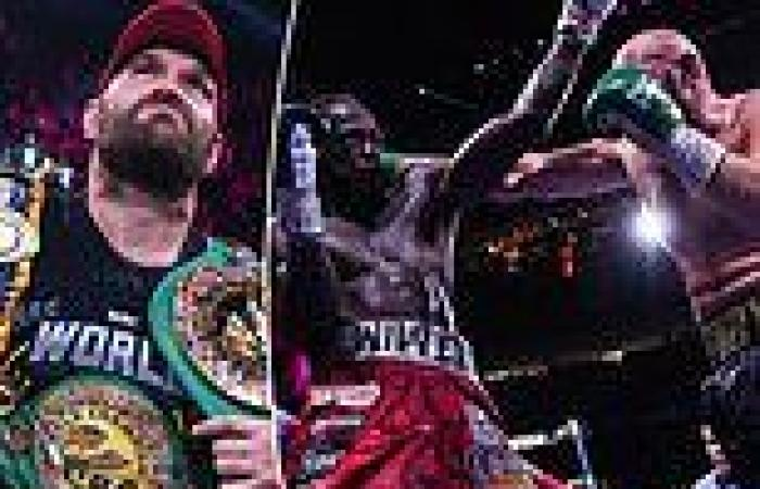 sport news Tyson Fury hints he could RETIRE from boxing after Deontay Wilder knockout win