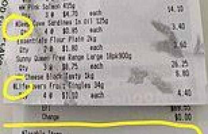 Woolworths admits error after a savvy shopper decodes little-known receipt ...