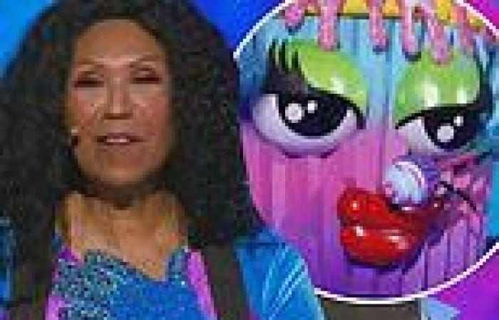 The Masked Singer: Ruth Pointer, 75, takes off Cupcake mask and reveals ...