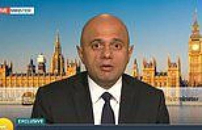 Sajid Javid apologises for government's Covid 'failures'