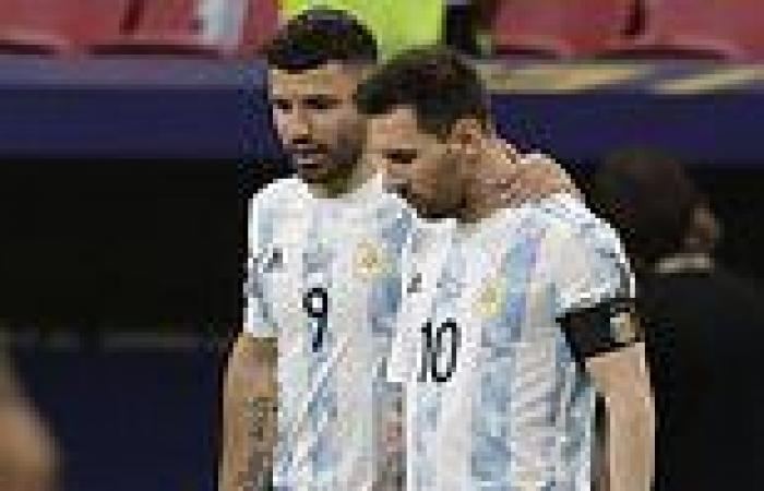 sport news Sergio Aguero reflects on 'moment of shock' when Lionel Messi's Barcelona exit ...