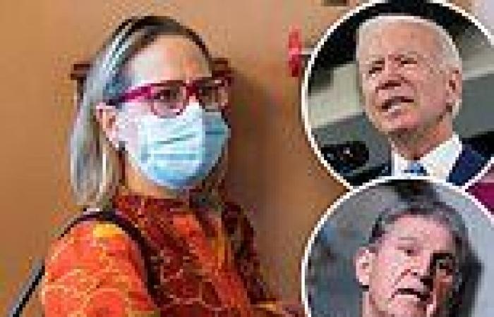 Kyrsten Sinema flees to Europe on a fundraising trip with Biden's budget in ...