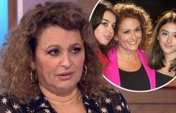 Nadia Sawalha reveals she and her husband are 'worried' about daughters amid ...