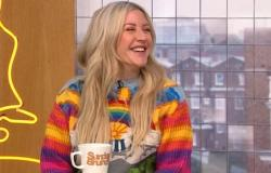 Pregnant Ellie Goulding reveals she stole husband Caspar Jopling's coat to ...