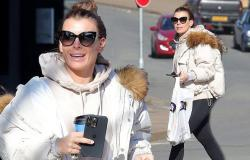 Coleen Rooney pictured for the first time since offering an '11th hour peace ...