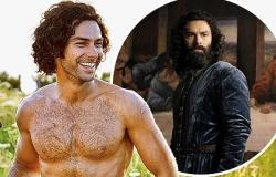 Aidan Turner explains why sex scenes can be 'tricky' ahead of his new ...