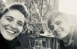 Line of Duty's Vicky McClure grins with Otto Farrant as they share an al fresco ...