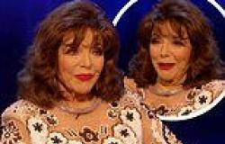 Joan Collins gets emotional and wows with cheeky quips on Piers Morgan Life ...