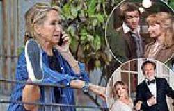 Felicity Kendal, 74, displays her impressive flexibility during rehearsals for ...
