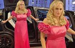 Rebel Wilson showcases her 30 kilogram weight loss on the set of her new movie ...