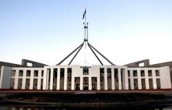 Man allegedly caught with weapon, making threats at Parliament House ...