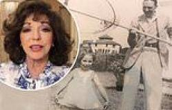 Joan Collins, 88, looks angelic in adorable childhood snap as late father ...