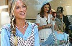 Sarah Jessica Parker and Bridget Moynahan cross paths while filming Sex and the ...