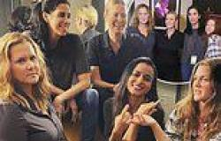 Drew Barrymore catches up with Chelsea Handler, Amy Schumer and Sarah Silverman ...