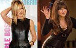 Jennifer Aniston's hair has'gone through a lot of thrashing' as she has been ...