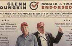 Virginia Dems mail out 'sneaky' ad that appears to show Trump endorsing ...